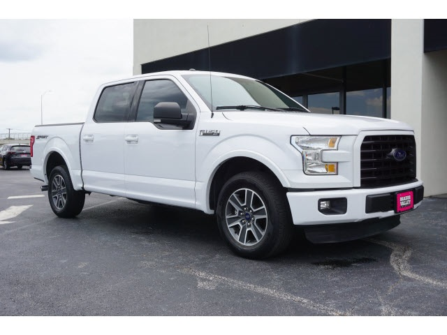 Ford College Station >> Pre Owned 2016 Ford F 150 Xlt Rwd 4d Supercrew