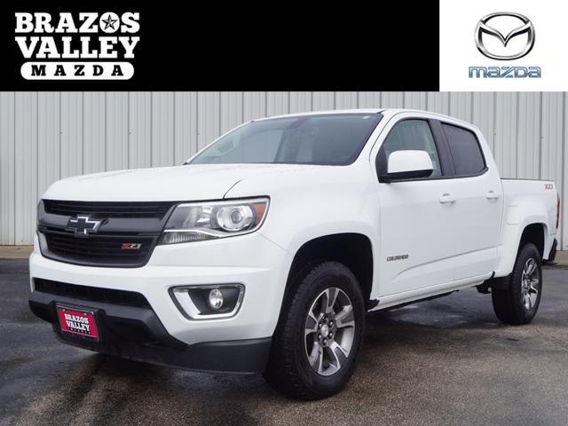 pre-owned 2017 chevrolet colorado z71 4d crew cab in bryan #h1291717